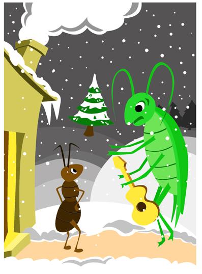l-illustration-de-la-cigale-et-la-fourmi-3