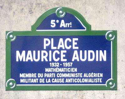place-Maurice-Audin