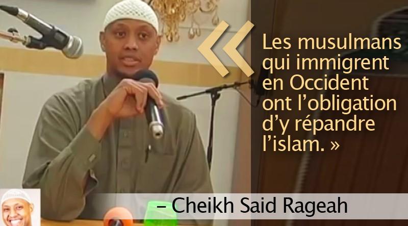 Le vrai projet des musulmans